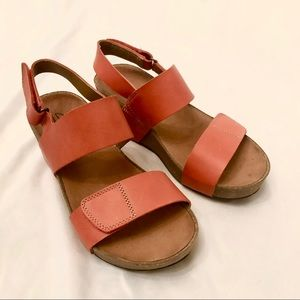 Cork wedge Clarks Sandals